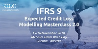 IFRS 9 Expected Credit Loss Modelling MasterClass 2.0, 15-16, November, 2018